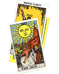 Tarot cards the sun - yourguidinglight.org