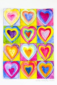 Kandinsky - Hearts - yourguidinglight.org